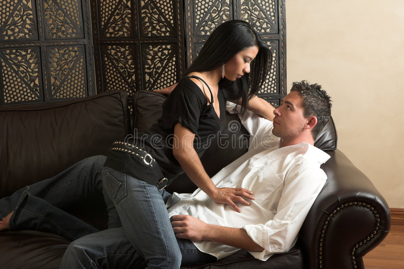Download Intimate lovers embrace stock image. Image of couple, male - 4892055