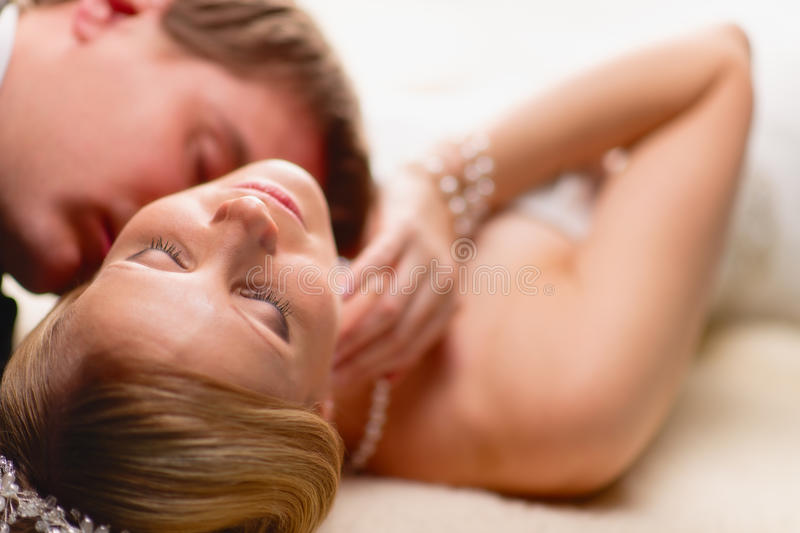 Intimate Moment Stock Image
