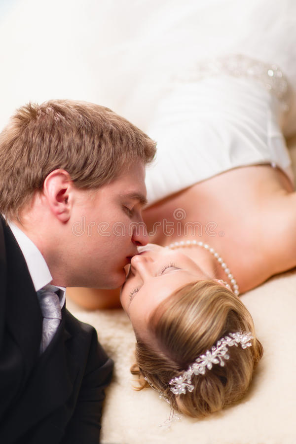 Download Intimate moment stock image. Image of love, groom, fiancee - 28248657