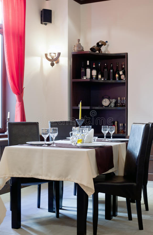 Download Intimate Restaurant Table And Chairs Stock Photo - Image: 38211596