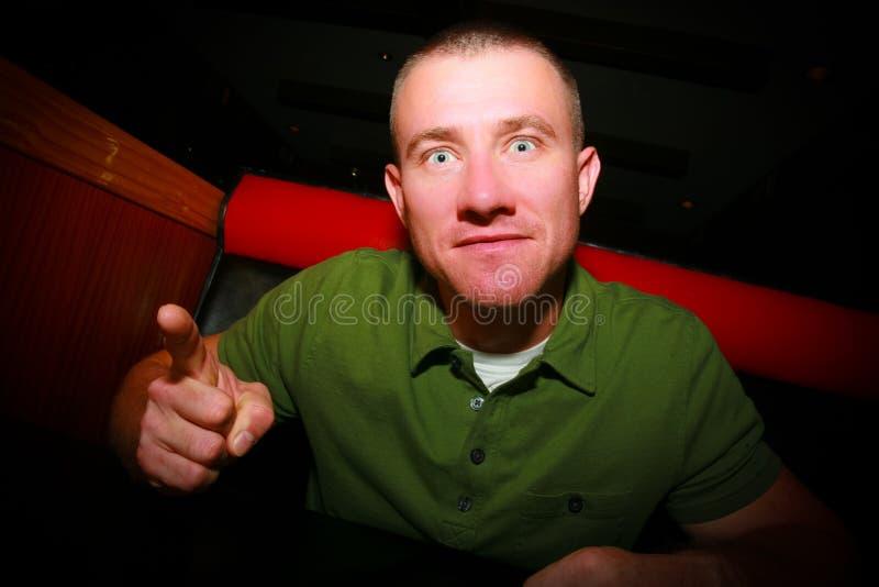 Intimidating Man Stock Photos