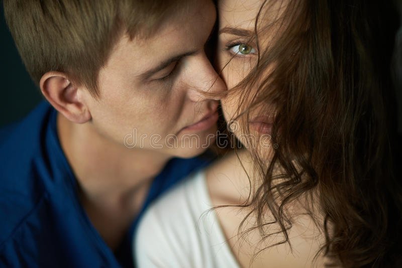 Intimiteit stock fotografie