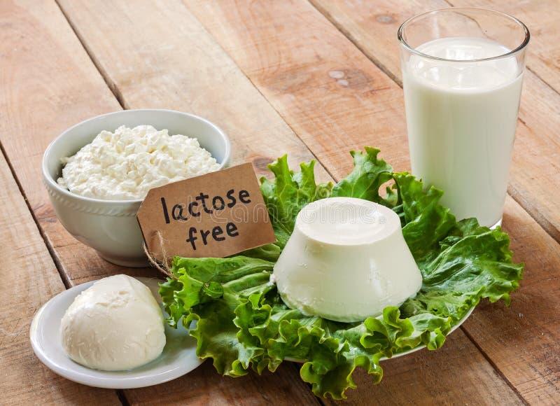 Intolérance sans lactose photographie stock libre de droits