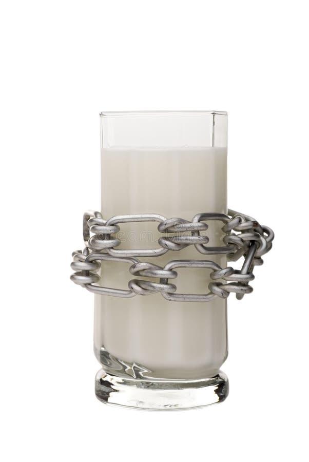 Intolleranza al lattosio immagini stock libere da diritti