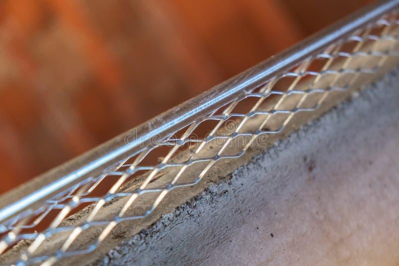 Intonacare la perla del metallo fotografie stock libere da diritti