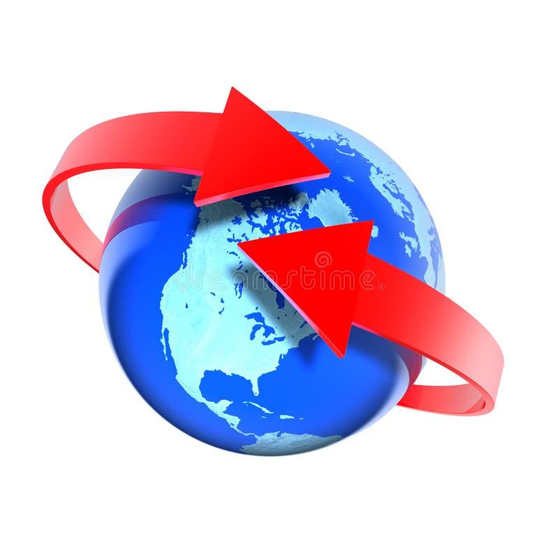 Download Intorno al mondo illustrazione di stock. Illustrazione di internet - 3882948