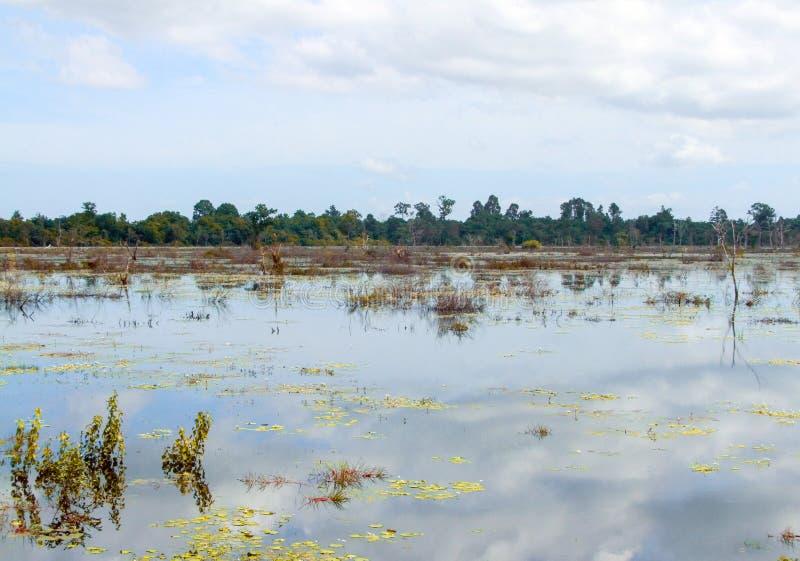 Intorno a Neak Pean a Angkor immagini stock libere da diritti