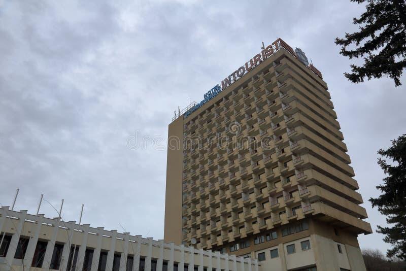 Intourist hotel w Pyatigorsk, Rosja obraz royalty free