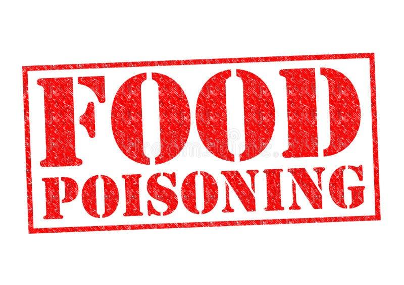 Intoxicación alimentaria ilustración del vector
