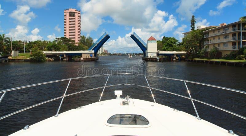Intracoastal Waterway royaltyfri bild