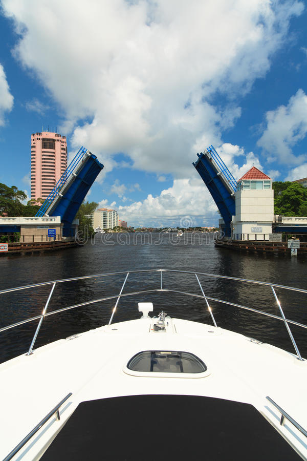Intracoastal Waterway royaltyfri fotografi