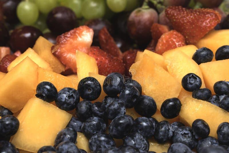 Intrecciatura della frutta dell'arcobaleno immagini stock
