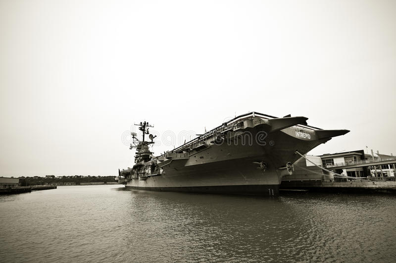 The Intrepid Sea-Air-Space Museum Editorial Photo