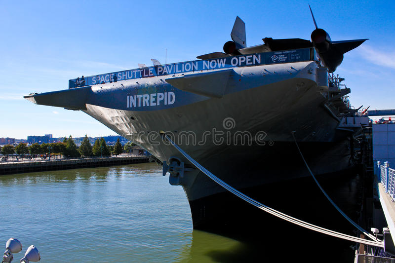 Download Intrepid Sea, Air And Space Museum, Manhattan, NYC Editorial Stock Photo - Image: 27597883