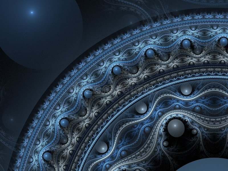 Download Intricate 3D pattern stock illustration. Image of geometry - 2625494