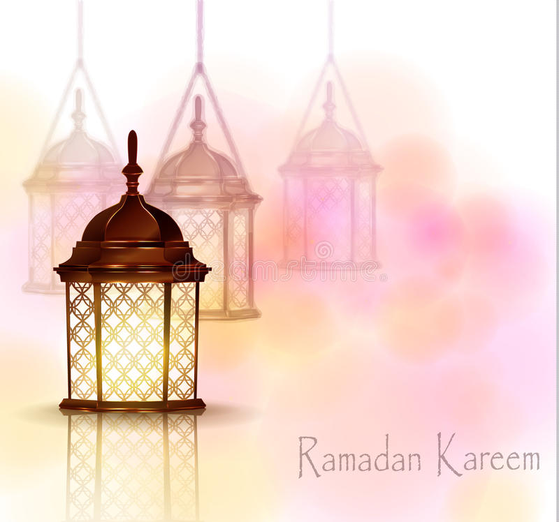 Download Intricate Arabic Lamps With Lights Stock Vector   Illustration Of  Beauty, Motive: 69491717