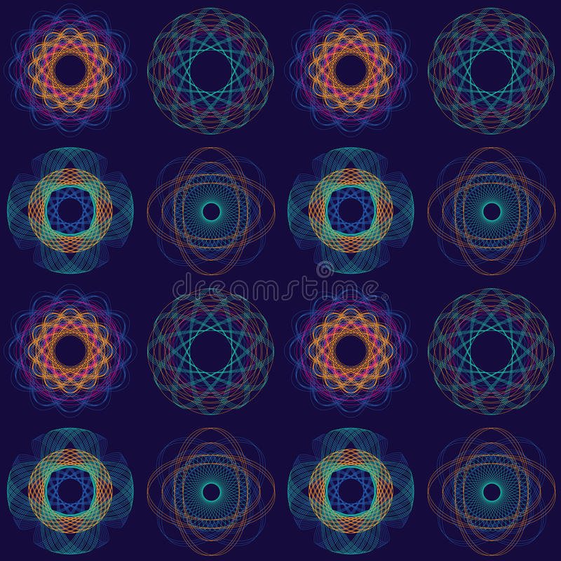 Download Intricate Circular Pattern stock vector. Image of ornate - 23425331