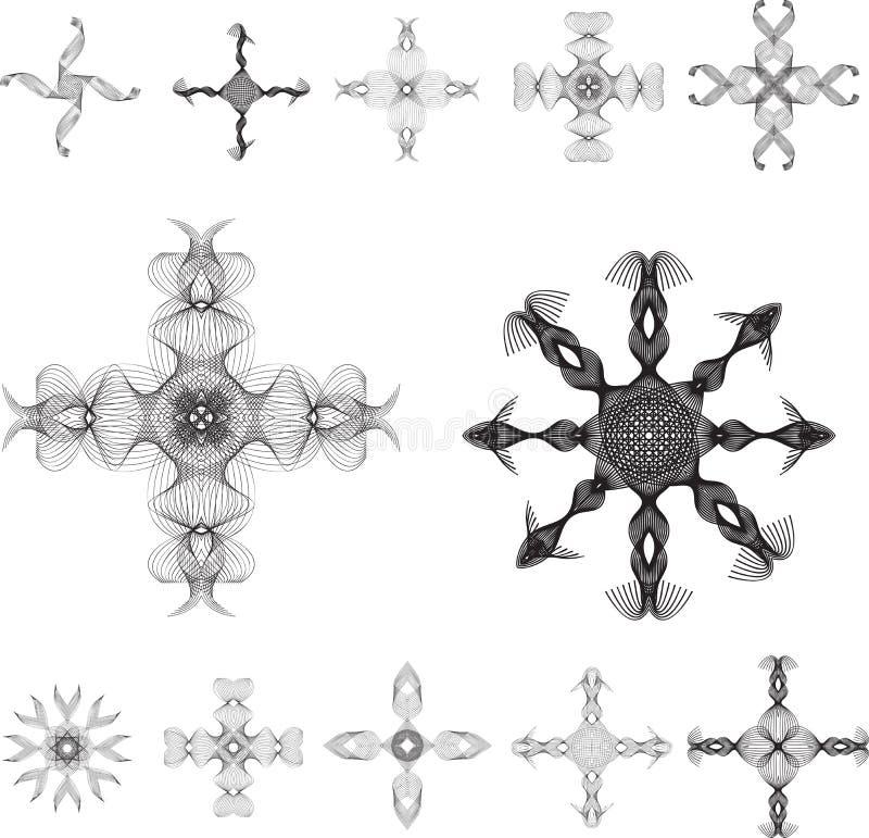Download Intricate designs stock illustration. Illustration of black - 3536265