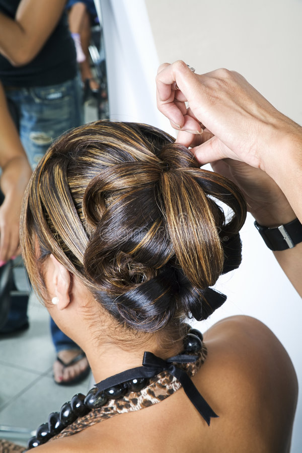 Download Intricate hair do 1 stock image. Image of curly, ethnic - 729141