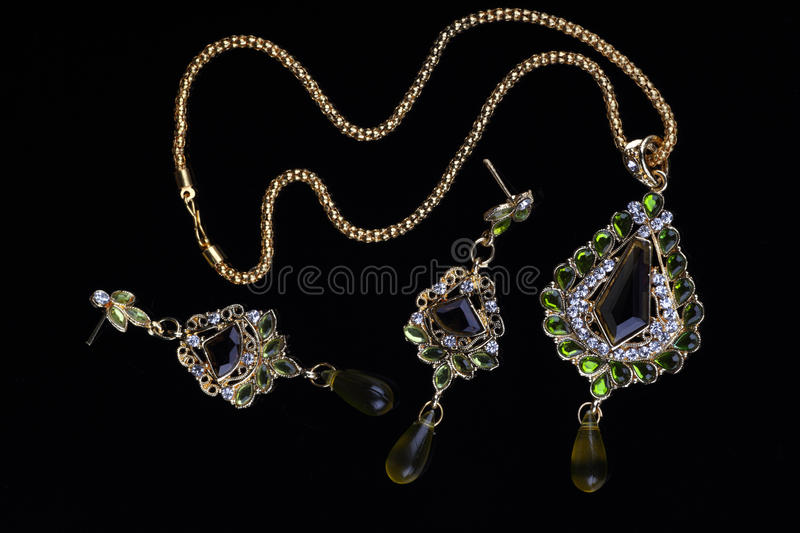 Download Intricate Indian Gold Jewelry Stock Photography - Image: 21927932