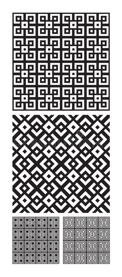 Download Intricate Interlocking Designs Stock Vector - Illustration of squares, background: 10688130