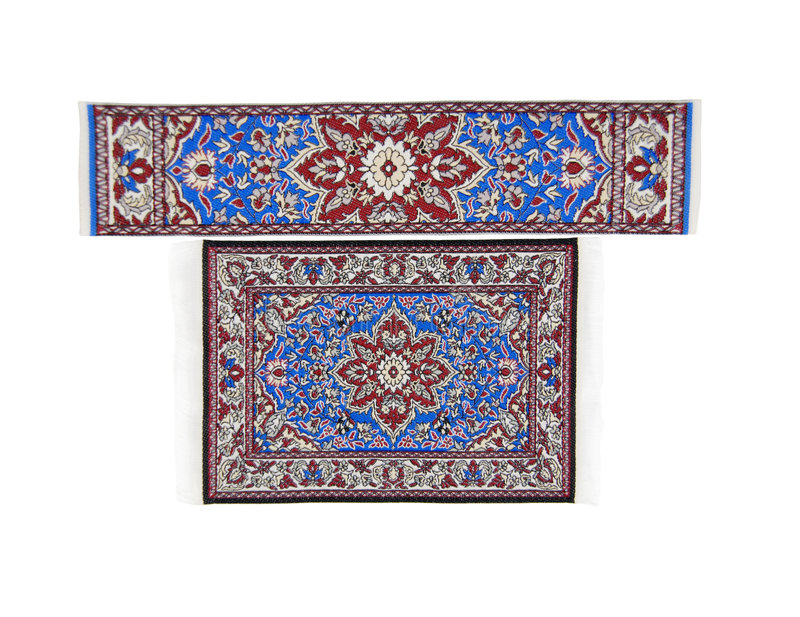 Download Intricate rug and runner stock image. Image of covering - 8244305