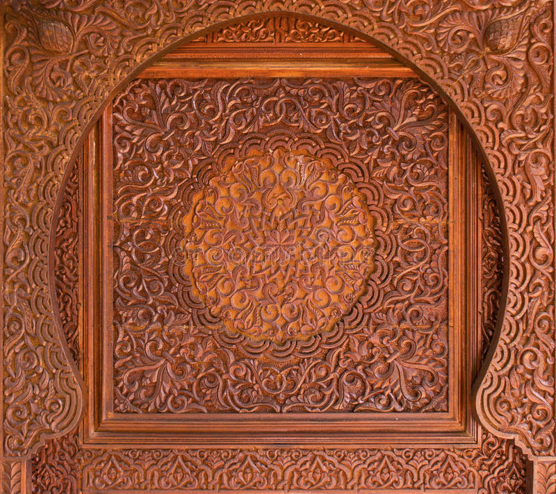 Download Intricate Wooden Islamic Decoration Stock Photo - Image: 27767546