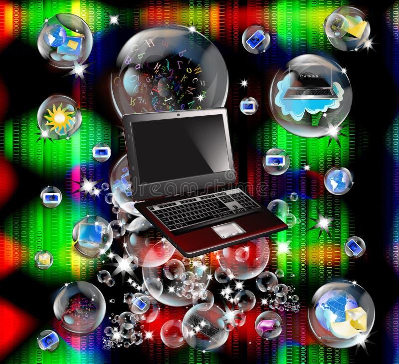 Download Intrnet technology stock illustration. Illustration of business - 21162565