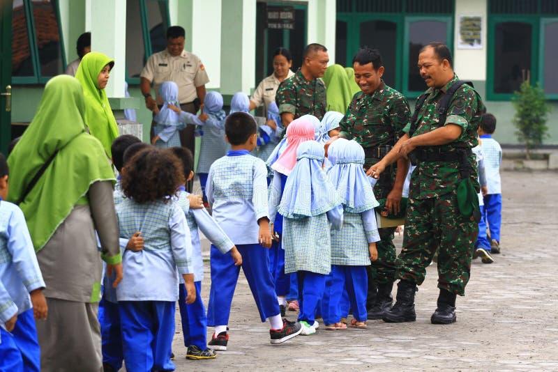 Introduceer beroeps Indonesisch Leger royalty-vrije stock afbeelding