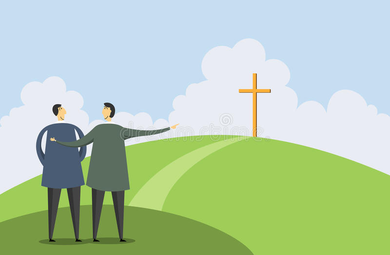Introducing Faith royalty free illustration