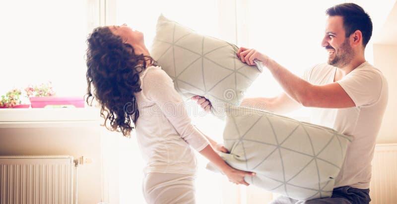 Introduisez l'amusement dans le boudoir photos libres de droits