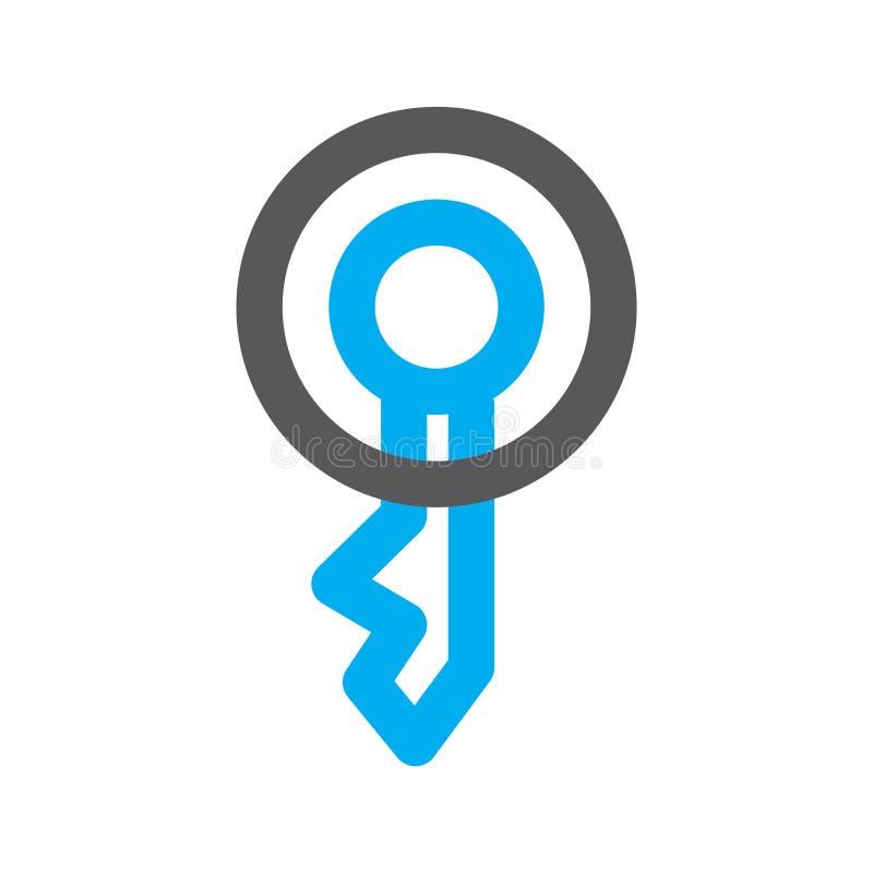Introduisez le logo photo stock