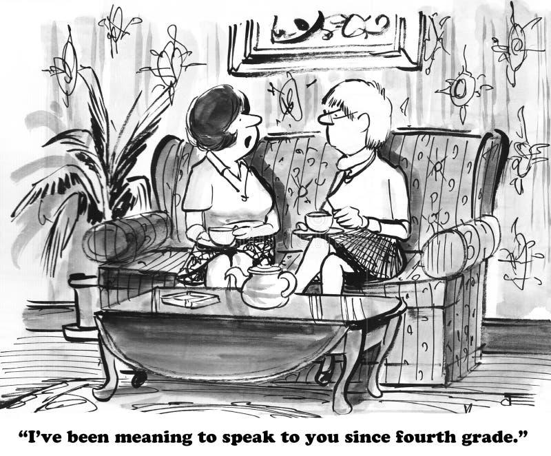introvert vector illustratie