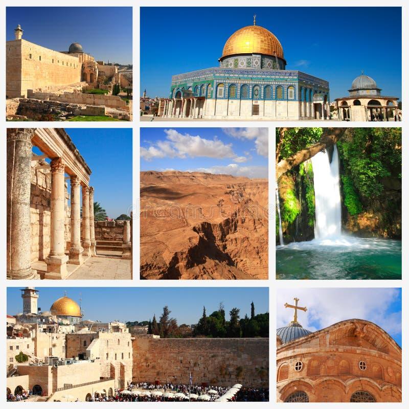 Intryck av Israel arkivfoton
