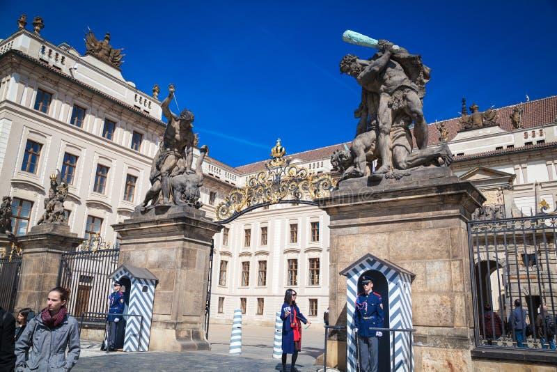 Intryck av Prague royaltyfri bild