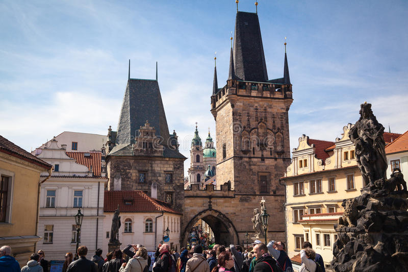 Intryck av Prague royaltyfri foto