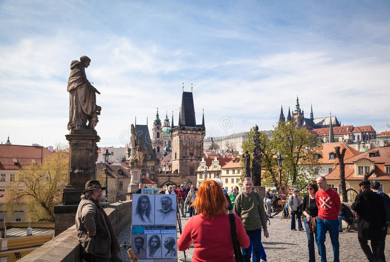 Intryck av Prague royaltyfri fotografi