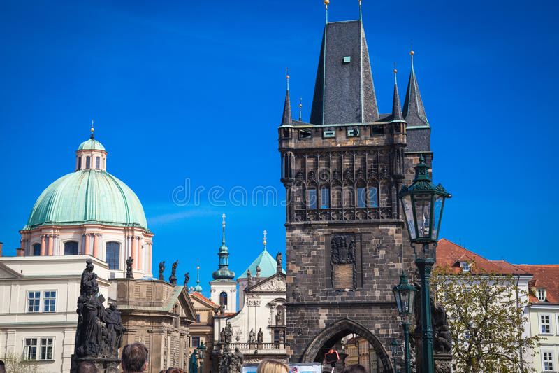 Intryck av Prague arkivbilder