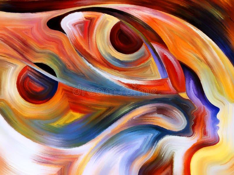 intuition illustration de vecteur