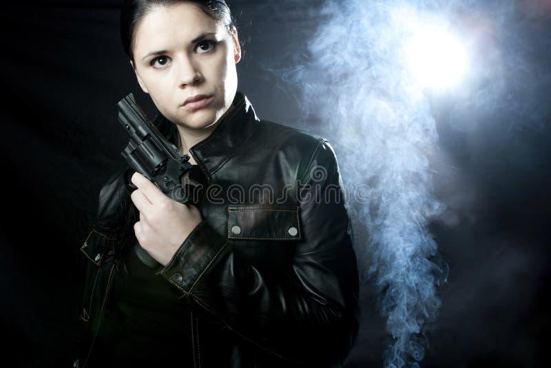 intymna oficer śledczy kobieta obrazy stock