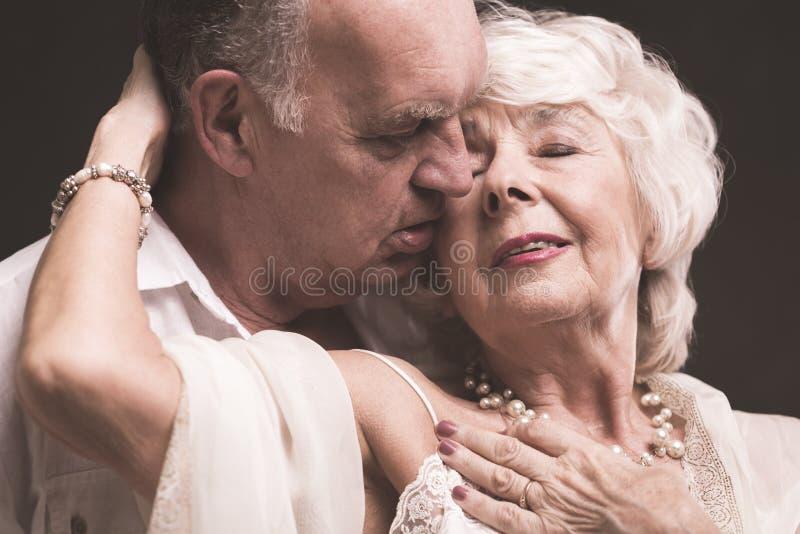 Intymni momenty z życie kochankiem zdjęcie stock