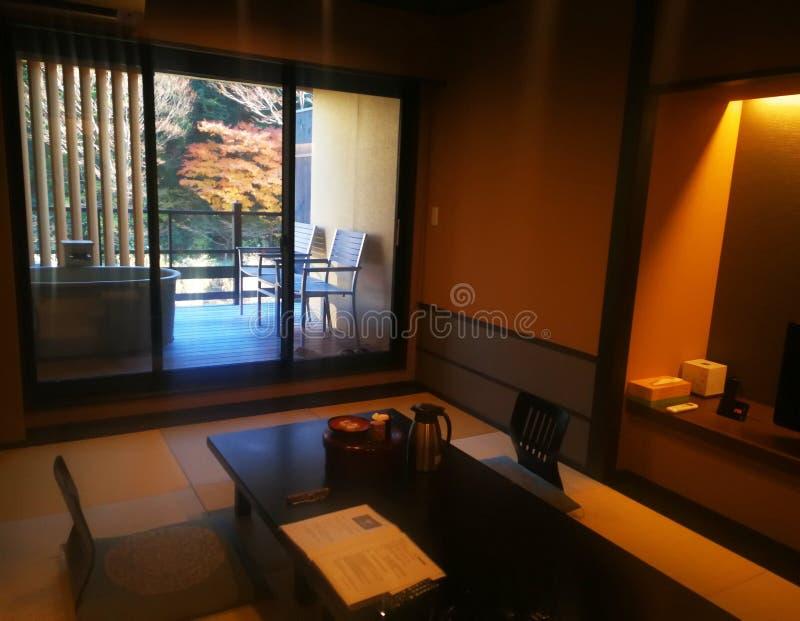 Intymny apartament Japan obrazy royalty free