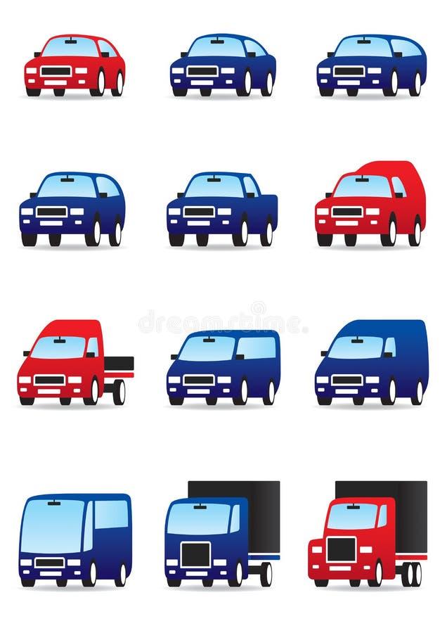 intymny jawny drogowy transport ilustracji