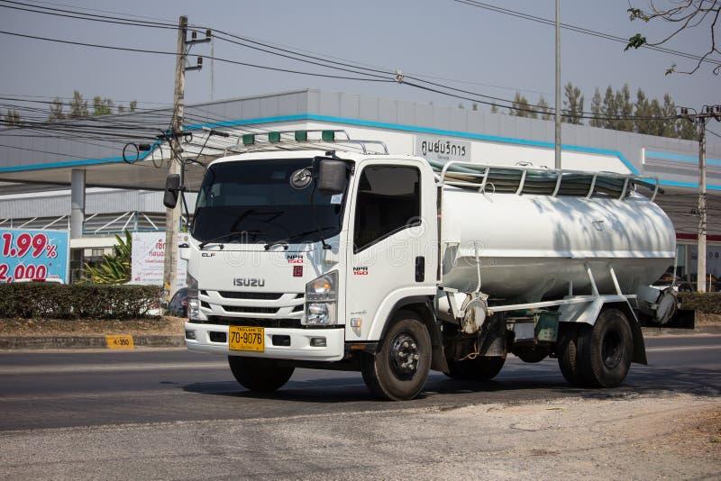 Intymny Kanalizacyjna Cysternowa ciężarówka zdjęcia stock