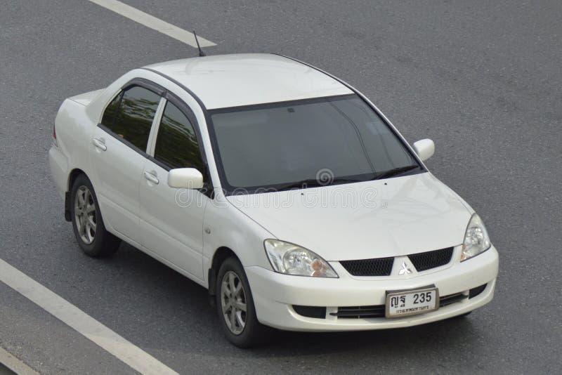 Intymny Pickup samochód, MITSUBISHI LANCER zdjęcia royalty free