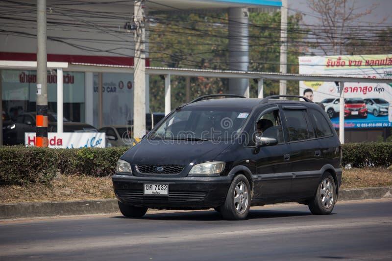 Intymny SUV samochód, Chevrolet Zafira obrazy royalty free