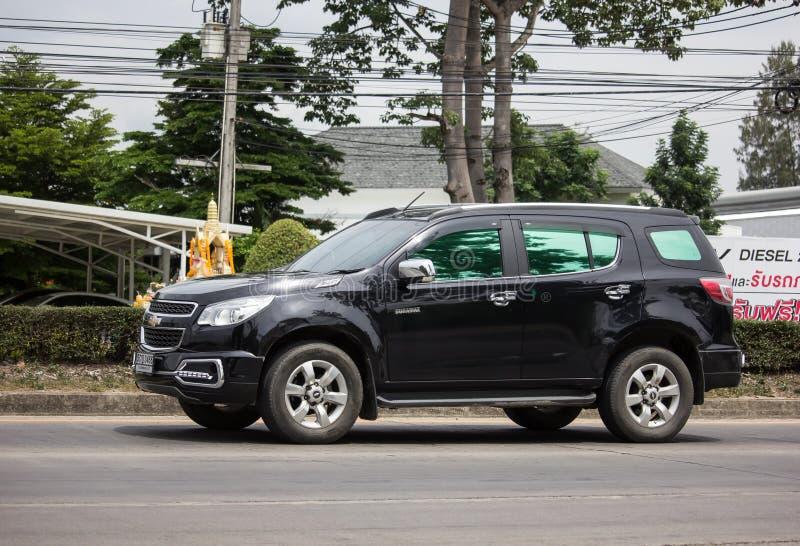 Intymny SUV samoch?d, Chevrolet Trailblazer fotografia stock