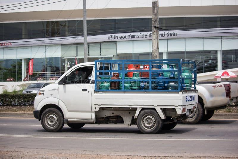 Intymny Suzuki Niesie Podnosi up samoch?d obrazy stock