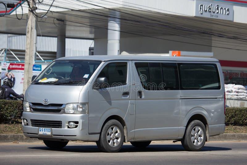 Intymny Toyota Hiace samochód dostawczy fotografia stock