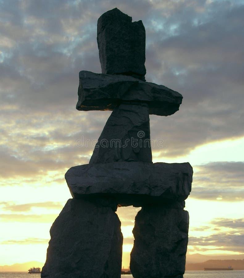Free Inukshuk Canada Stock Image - 3064481